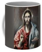 Christ Blessing, The Saviour Of The World Coffee Mug