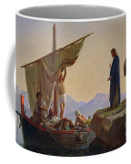 Christ Calling The Apostles James And John Coffee Mug