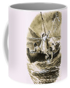Christ Calming The Storm Coffee Mug