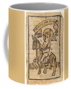 Christ Child On Donkey Coffee Mug