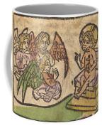 Christ Child With Three Angels Coffee Mug