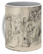 Christ Disputing With The Doctors: A Sketch Coffee Mug
