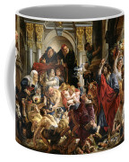 Christ Driving The Merchants From The Temple Coffee Mug