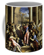 Christ Driving The Traders From The Temple 1576 Coffee Mug