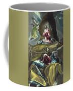 Christ In The Olive Garden Coffee Mug