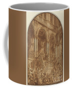 Christ Led Captive From A Palace Coffee Mug