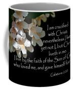 Christ Lives In Me Coffee Mug