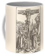 Christ On The Cross Between The Virgin And Saint John Coffee Mug