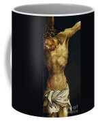 Christ On The Cross Coffee Mug by Matthias Grunewald