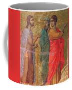 Christ On The Road To Emmaus Fragment 1311 Coffee Mug