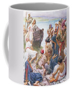 Christ Preaching From The Boat Coffee Mug
