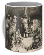 Christ Preaching (la Petite Tombe) Coffee Mug