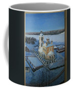 Christ Risen Church In Ples, Ivanovo Region Coffee Mug