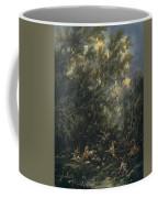 Christ Served By The Angels Coffee Mug