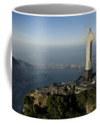 Christ The Redeemer Statue Coffee Mug by Joel Sartore