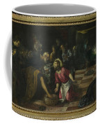 Christ Washing The Feet Of The Disciples Coffee Mug
