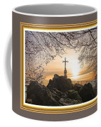 Christellerata L A S With Decorative Ornate Printed Frame. Coffee Mug