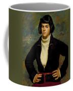 Christian Viasto - A Canal Boat Woman Coffee Mug