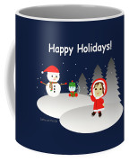 Christmas #6 And Text Coffee Mug