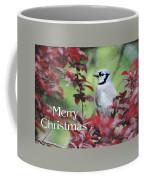 Christmas And Blue Jay Coffee Mug