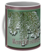 Christmas Arborvitae In Ice Coffee Mug