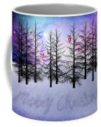 Christmas Bare Trees Coffee Mug