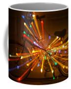 Christmas Bike Abstract Coffee Mug