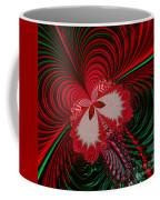 Christmas Butterfly Fractal 63 Coffee Mug