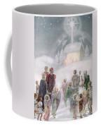 Christmas Card Coffee Mug by Daphne Allan