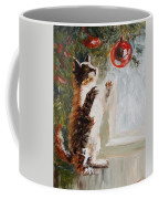 Christmas Cat Coffee Mug
