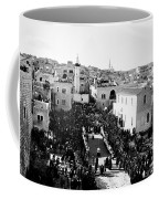 Christmas Celebration In 1901s Coffee Mug