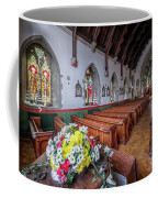 Christmas Church Flowers Coffee Mug