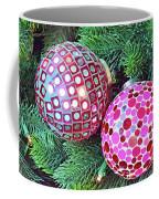 Christmas Dots No. 1-1 Coffee Mug