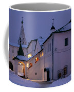 Christmas Evening Light In The Temple Suzdal Coffee Mug