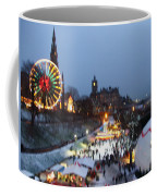 Christmas Fair Edinburgh Scotland Coffee Mug