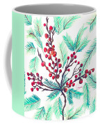 Christmas Holly Coffee Mug
