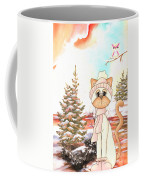 Christmas In The Forest Coffee Mug