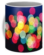 Christmas Lights Abstract Coffee Mug