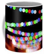 Christmas Lights Bokeh Blur Coffee Mug
