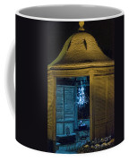 Christmas Lights In Gazebo Coffee Mug
