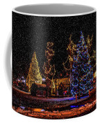 Christmas Snow Storm In Big Bear Coffee Mug