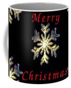 Christmas Snowflakes Coffee Mug