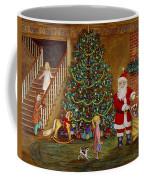 Christmas Visitor Coffee Mug by Linda Mears
