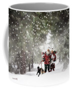 Christmas Walking Coffee Mug