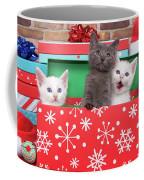 Christmas With Kittens Coffee Mug