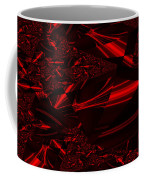 Chrome In Red Coffee Mug