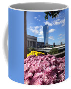 Chrysanthemums And Cirrus  Coffee Mug