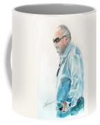 Chubby Chandler Watercolor Coffee Mug
