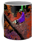 Chuck Chainsaw 2 Coffee Mug