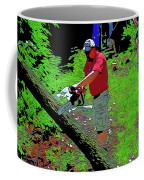 Chuck Chainsaw Coffee Mug